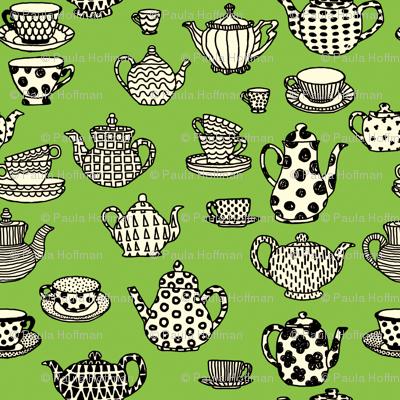 Antique Shop - Teapots