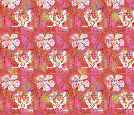 Batiki -4 fabric by lacefairy on Spoonflower - custom fabric