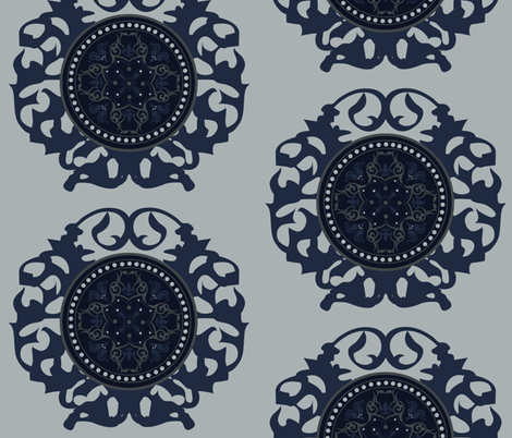 Dark_Ages fabric by art_is_hard on Spoonflower - custom fabric