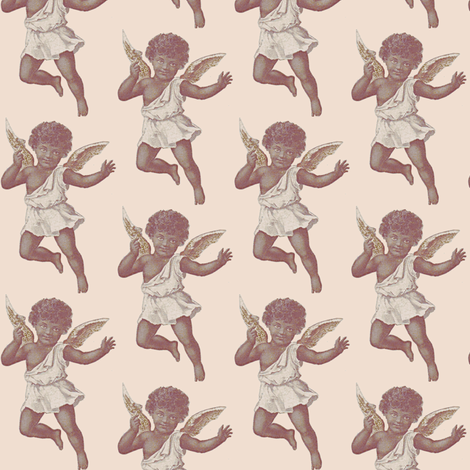Angel Baby fabric by nalo_hopkinson on Spoonflower - custom fabric