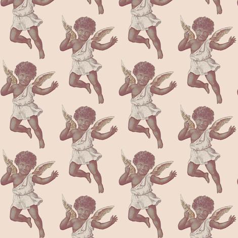 Angel Baby fabric by nalo_hopkinson on Spoonflower - custom fabric