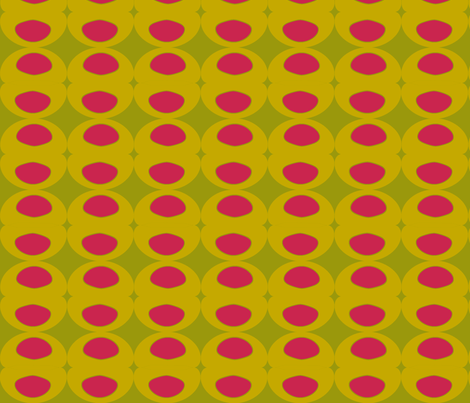 Olive Martini Pink fabric by sbd on Spoonflower - custom fabric