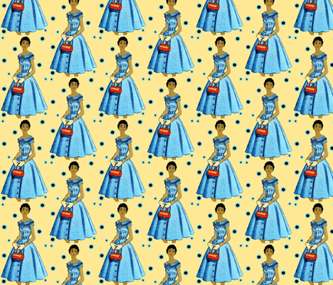 Hue, jaunatre fabric by nalo_hopkinson on Spoonflower - custom fabric