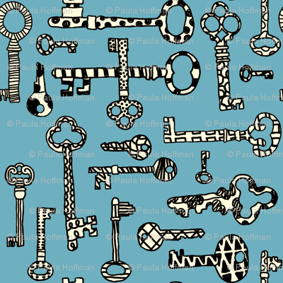 Antique Shop - Skeleton Keys