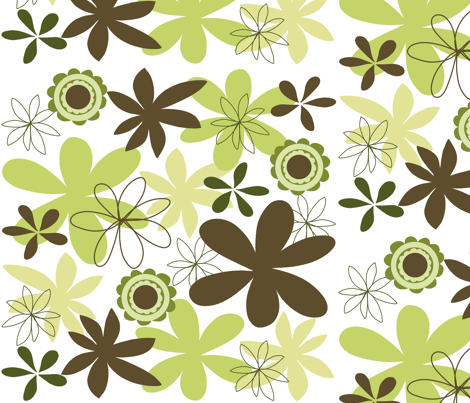 garden blooms fabric by emilyb123 on Spoonflower - custom fabric
