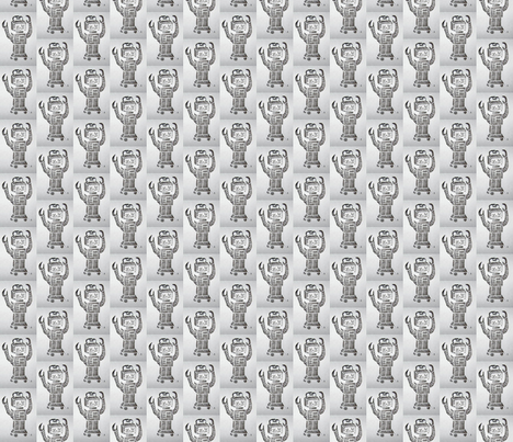 myrobot-ed-ed fabric by pigglewiggins on Spoonflower - custom fabric