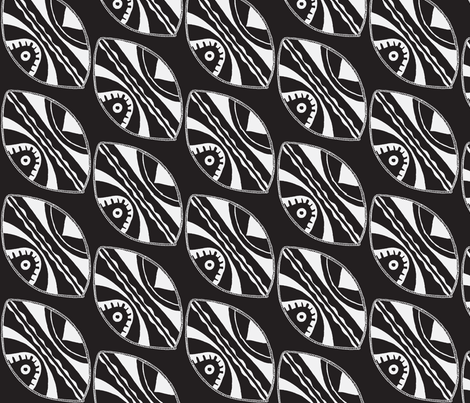 Shield fabric by blue_jacaranda on Spoonflower - custom fabric