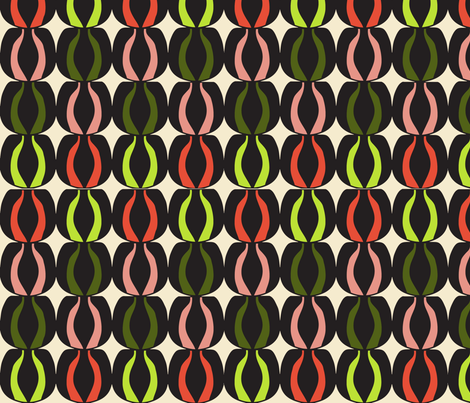 Olive Medley fabric by sbd on Spoonflower - custom fabric