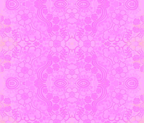 swirly_pink_1 fabric by snork on Spoonflower - custom fabric