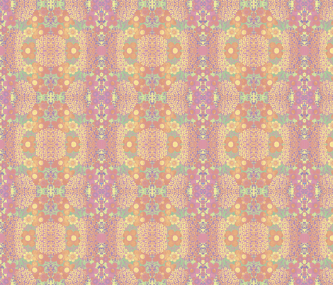 sunrise_bloom2 fabric by snork on Spoonflower - custom fabric