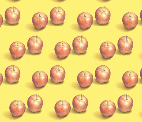 PeggyApples1 fabric by telutelu on Spoonflower - custom fabric