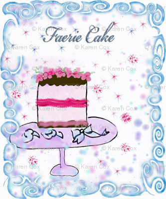 Tiny Faerie Cake