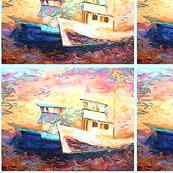 Seattle Fishing Boats