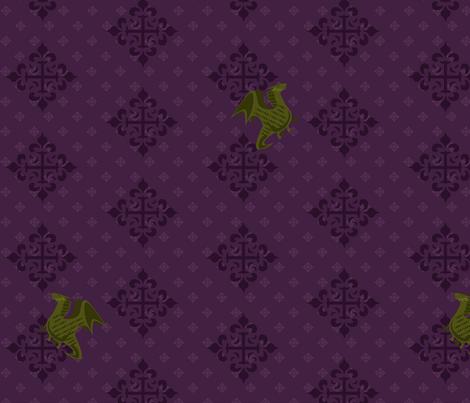 medieval fabric by rhinestic on Spoonflower - custom fabric