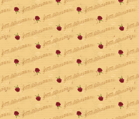 Rose Symphony fabric by voodoorabbit on Spoonflower - custom fabric