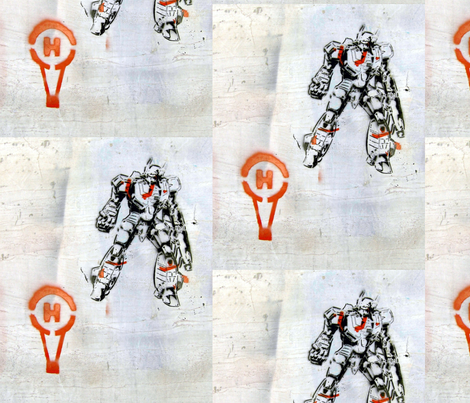helium_man fabric by remnantz on Spoonflower - custom fabric