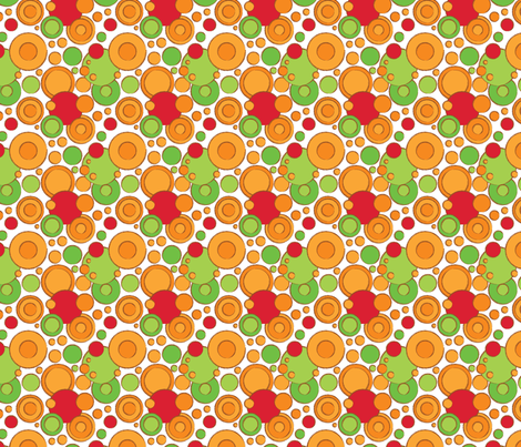 Filled Circle - ROG fabric by jmckinniss on Spoonflower - custom fabric