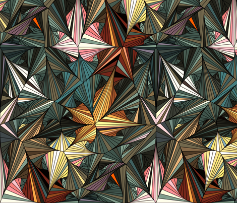Geometrica 3 fabric by chris on Spoonflower - custom fabric