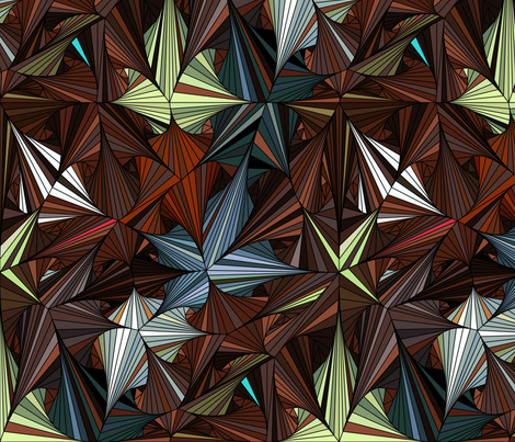 Geometrica 4 fabric by chris on Spoonflower - custom fabric