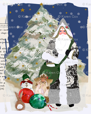 Father Christmas 2010 Ephemera