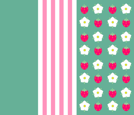 Berry Flower fabric by jadegordon on Spoonflower - custom fabric
