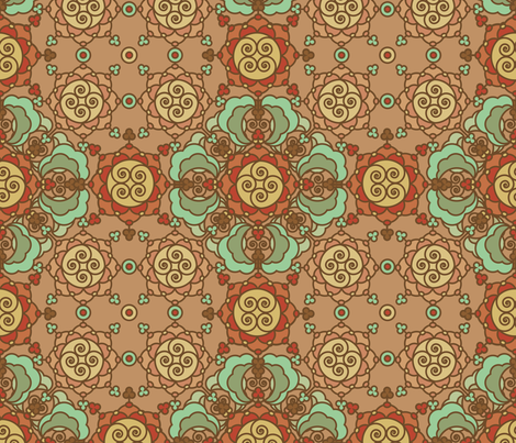 Medieval fabric by vina on Spoonflower - custom fabric