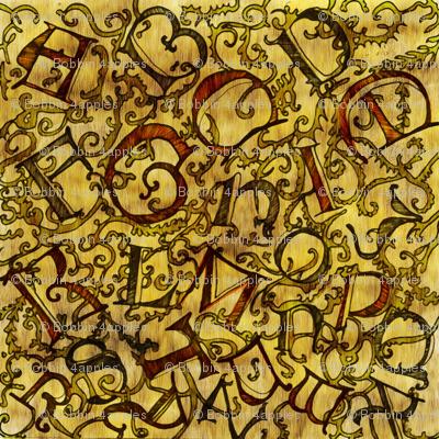 Illuminated Alphabet