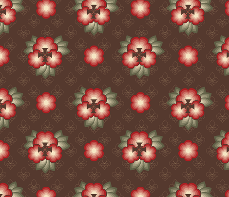 medieval_garden fabric by deesignor on Spoonflower - custom fabric