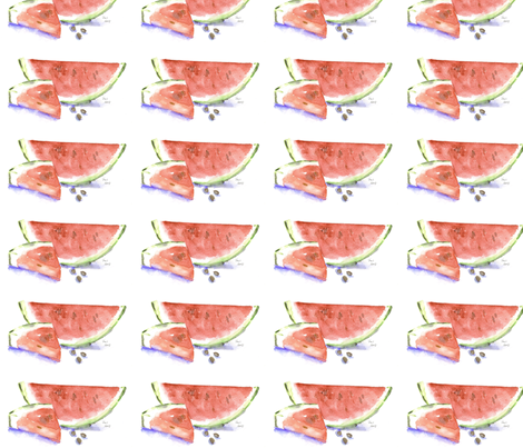 watermelon-ed fabric by loveitaly on Spoonflower - custom fabric