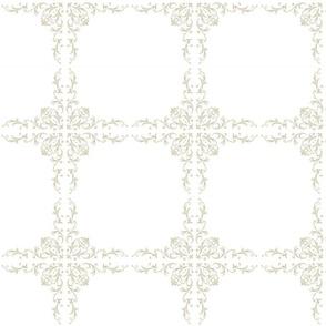 Simple Crisp Block Print Quilt