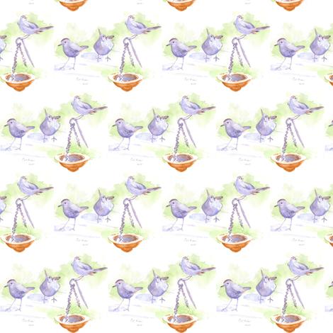 catbird fabric by loveitaly on Spoonflower - custom fabric