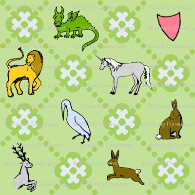 Medieval Animal Trellis