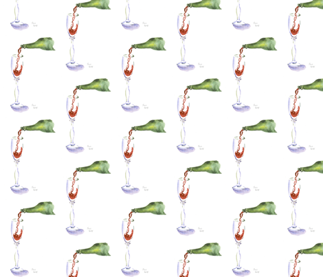 pour fabric by loveitaly on Spoonflower - custom fabric