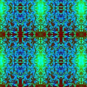 Design Delirium Blue aztec