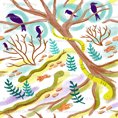 Snakes, Crows and Trees