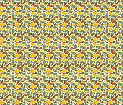 Tiki Party Leaf Rainbow Small fabric by fuzzyskyfabric on Spoonflower - custom fabric