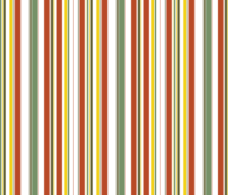 Tiki Party Stripe fabric by fuzzyskyfabric on Spoonflower - custom fabric