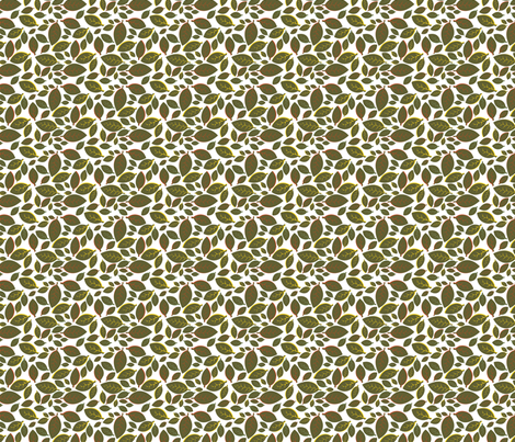 Tiki Party Leaf Green Small fabric by fuzzyskyfabric on Spoonflower - custom fabric