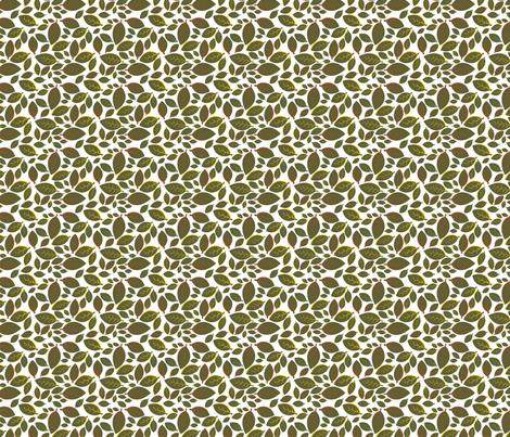 Tiki Party Leaf Green Small fabric by fuzzyskyfabric on Spoonflower - custom fabric