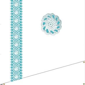 Crochet Illusion Fancy Apron