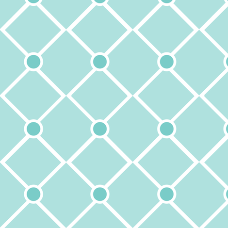 Dots and Diamonds fabric by delsie on Spoonflower - custom fabric