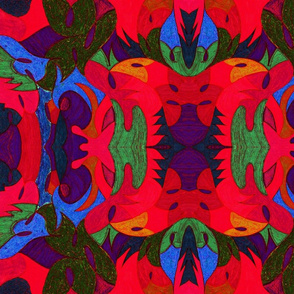 Tropicali Colored Edges Red
