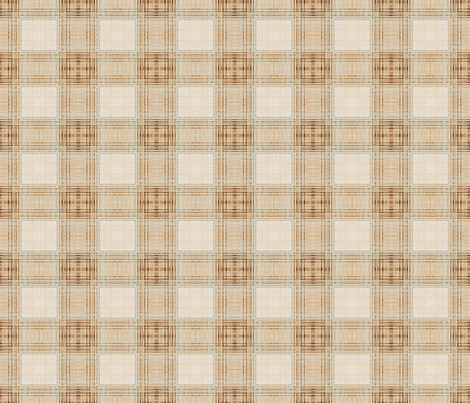 Vintage Shabby Check Grande fabric by kristopherk on Spoonflower - custom fabric