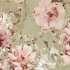 Vintage Shabby Rose