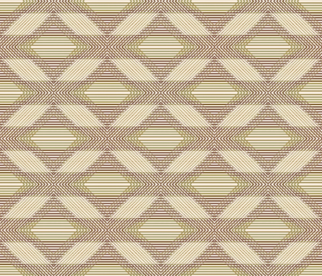 Vintage Shabby Diamond Grande fabric by kristopherk on Spoonflower - custom fabric