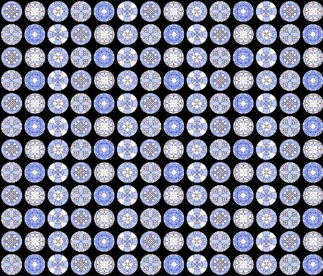 Pearl's Disks fabric by siya on Spoonflower - custom fabric