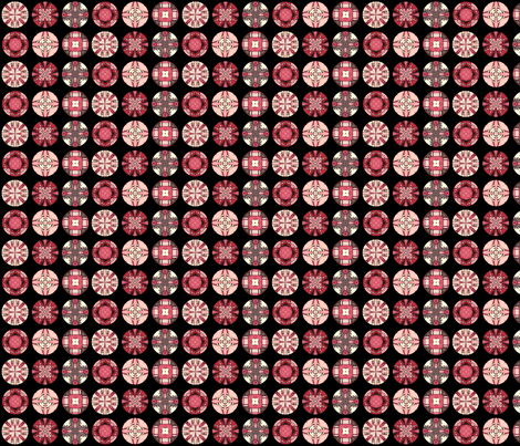 Parvati's Disks fabric by siya on Spoonflower - custom fabric