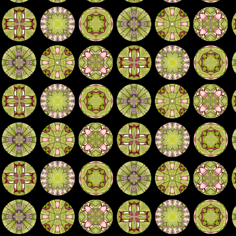 Rosalie's Disks fabric by siya on Spoonflower - custom fabric