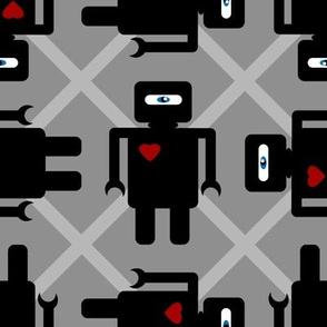 Robot Houndstooth