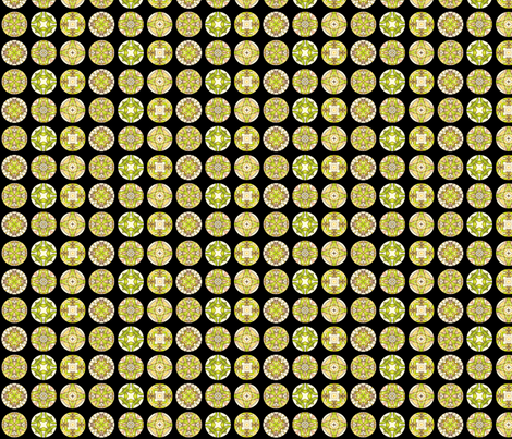 Rojilasha's Disks fabric by siya on Spoonflower - custom fabric